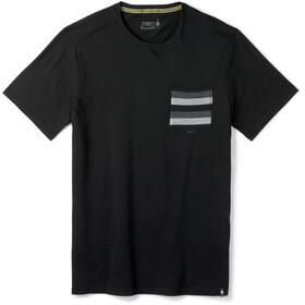 Smartwool Merino 150 T-shirt Poche de poitrine Homme, black stripe